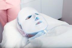Lekka terapia twarzy skóra Obraz Stock