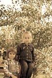 Lekkamrater Royaltyfria Foton