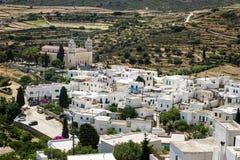 Lekkes village,Paros, Greece Royalty Free Stock Images
