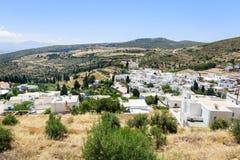 Lekkes village,Paros, Greece Royalty Free Stock Photography