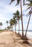 Lekki海滩在拉各斯 免版税库存照片