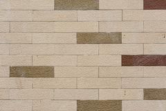 Lekki ściana z cegieł tło Obraz Royalty Free