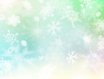 lekki śnieg royalty ilustracja