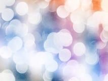Lekki świąteczny bokeh tło Zdjęcia Royalty Free