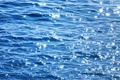 lekki błękit morze Zdjęcie Royalty Free