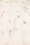 Lekki beżowy parkietowy Drewniana tekstura Zdjęcia Royalty Free