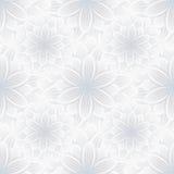 Lekki bezszwowy wzór z kwiat chryzantemą Obraz Royalty Free