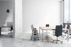 Lekki biurowy wnętrze ilustracja wektor