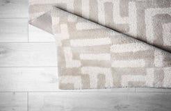 Lekki dywan z wzorem zdjęcia stock