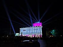Lekki filmu festiwal fotografia royalty free