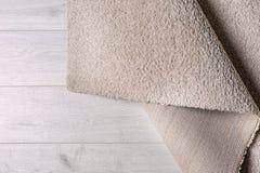 Lekki miękki dywan zdjęcie royalty free