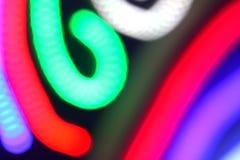 lekki neon Obrazy Royalty Free