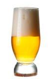 Lekki piwo szkło Obrazy Stock