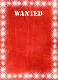 lekki plakata gwiazdy rocznik Zdjęcia Royalty Free