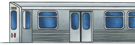 Lekki poręcza pociąg 1 - Żadny tło Obraz Stock