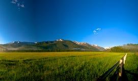Lekki Puszek Długa Dolina Fotografia Royalty Free
