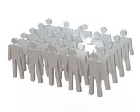 Lekki puszek na wolontariuszach Obraz Stock
