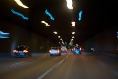 lekki ruch drogowy Fotografia Royalty Free