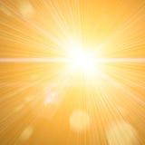 lekki słońce Obrazy Royalty Free