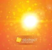 lekki słońce Zdjęcie Stock