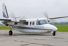lekki samolotu pasażer Fotografia Royalty Free