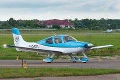 Lekki turbośmigłowy samolot Zdjęcie Royalty Free
