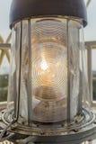 Lekki zbliżenie, Twillingate latarnia morska fotografia royalty free