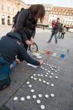 Lekkie świeczki zbliżają generała Kleber Zdjęcia Royalty Free