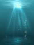 lekkie pod wodą Fotografia Stock