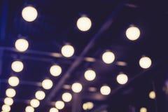 Lekkiego dekoracja pokazu mody zakulisowy przyjęcie Zdjęcie Royalty Free