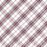 Lekkiego diagonalnego tartanu bezszwowy wzór Obrazy Stock