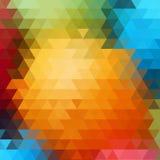 Lekkiego Multicolor wektorowego abstrakta textured poligonalny tło Rozmyty tr?jboka projekt Wzór może używać dla ilustracja wektor
