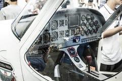 Lekkiego samolotu kokpit Obrazy Royalty Free