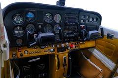 Lekkiego sporta instrumentu samolotowy panel fotografia royalty free