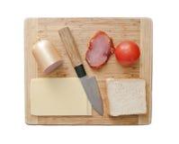 Lekmanna- mat för aptitretarelägenhet royaltyfri bild