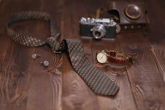 Lekmanna- skott för lägenhet av mantillbehör 1 livstid fortfarande Affärsblick Arkivbilder