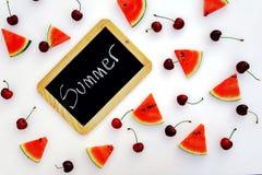 Lekmanna- sommarfruktlägenhet Fotografering för Bildbyråer