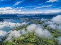 Leknes από τον αέρα Στοκ φωτογραφία με δικαίωμα ελεύθερης χρήσης