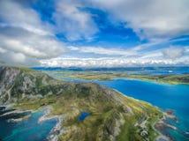 Leknes σε Lofoten Στοκ Φωτογραφίες