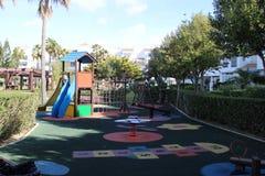 Lekplats för barn arkivfoto