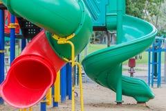 Lekplats för barn Fotografering för Bildbyråer