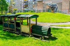 Lekplats för barn` s arkivbild