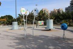 Lekplats för barn s med tema royaltyfri foto