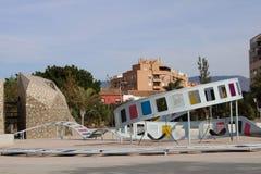 Lekplats för barn s som ska klättras royaltyfria bilder
