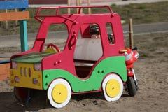 lekplats för barnspelrum Arkivfoton
