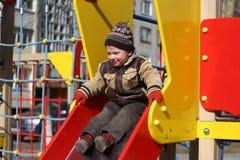 lekplats för barnspelrum Royaltyfri Foto