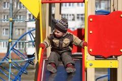 lekplats för barnspelrum Royaltyfria Foton
