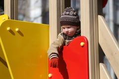 lekplats för barnspelrum Royaltyfria Bilder