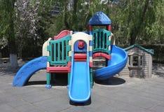 Lekplats i barnkammare Arkivfoto