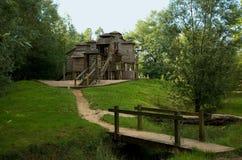 Lekplats i Kessel-Lo, Belgien Arkivfoto